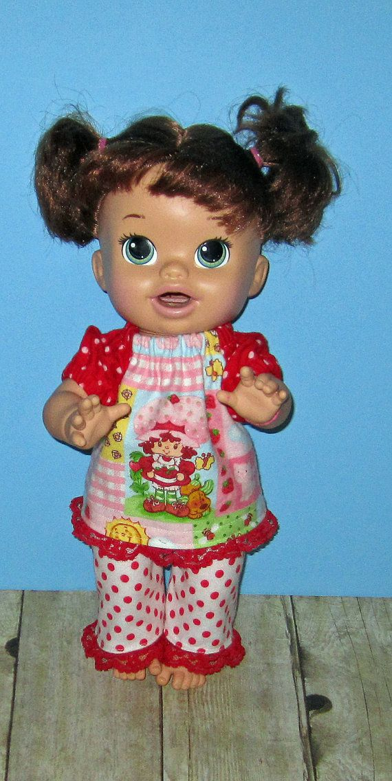 Snackin Sara Baby Alive Doll Clothes Pink By Dakocreations