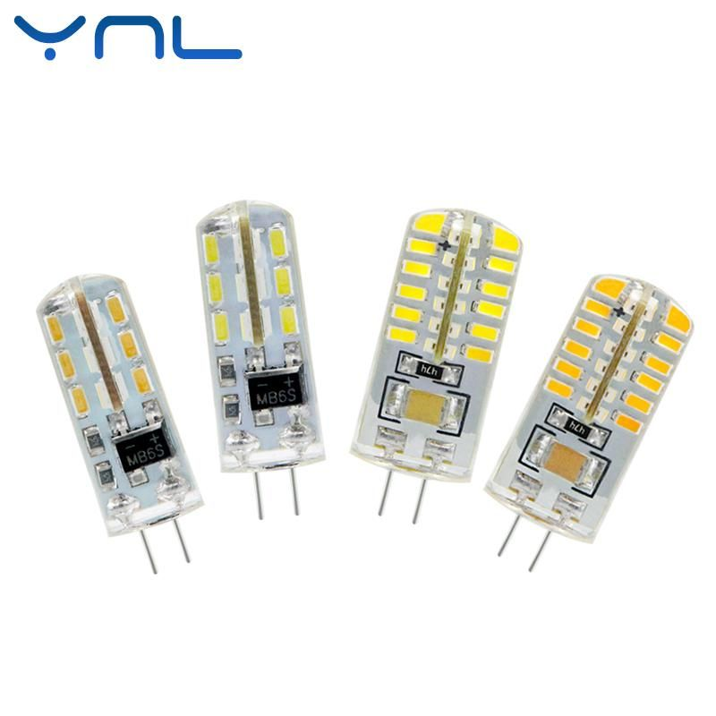 Visit To Buy Ynl Lampada Led G4 Lamp Ac 220v 3w 4w 5w Dc 12v G4 Led Bulb Smd3014 2835 24 48 64 Replace 10w 30w Halogen Spotlight Chandel G4 Led Led Bulb Bulb