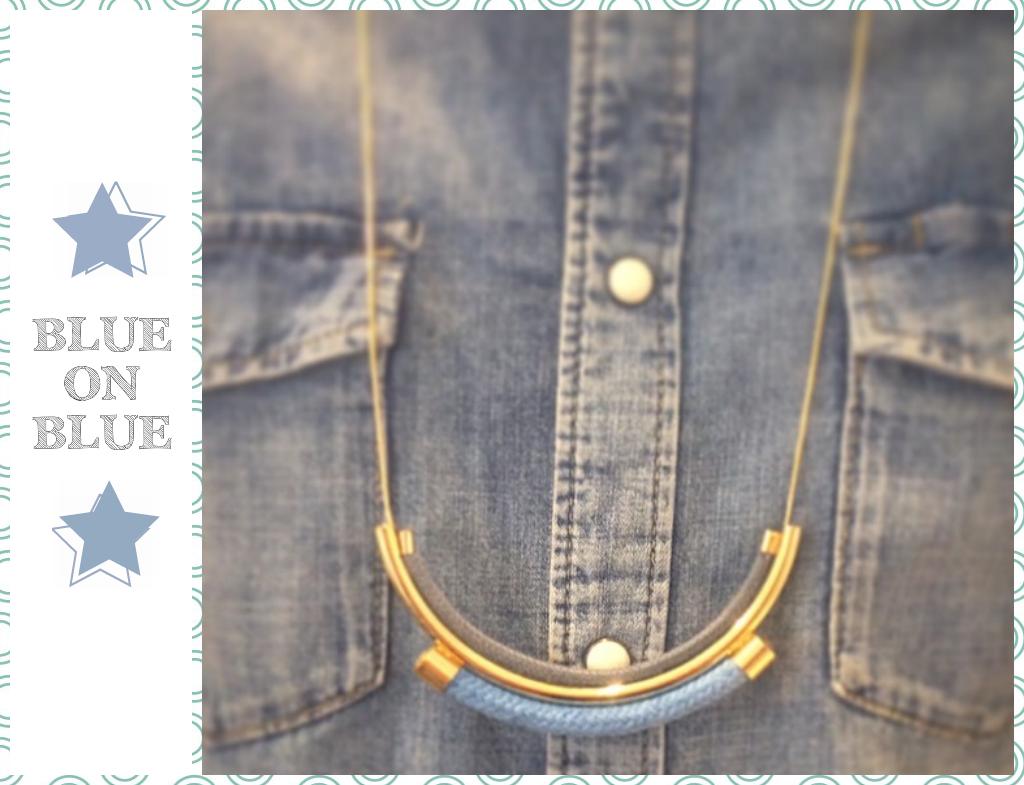 Nautical Neptune rope necklace/ Shlomit Ofir Jewelry Design