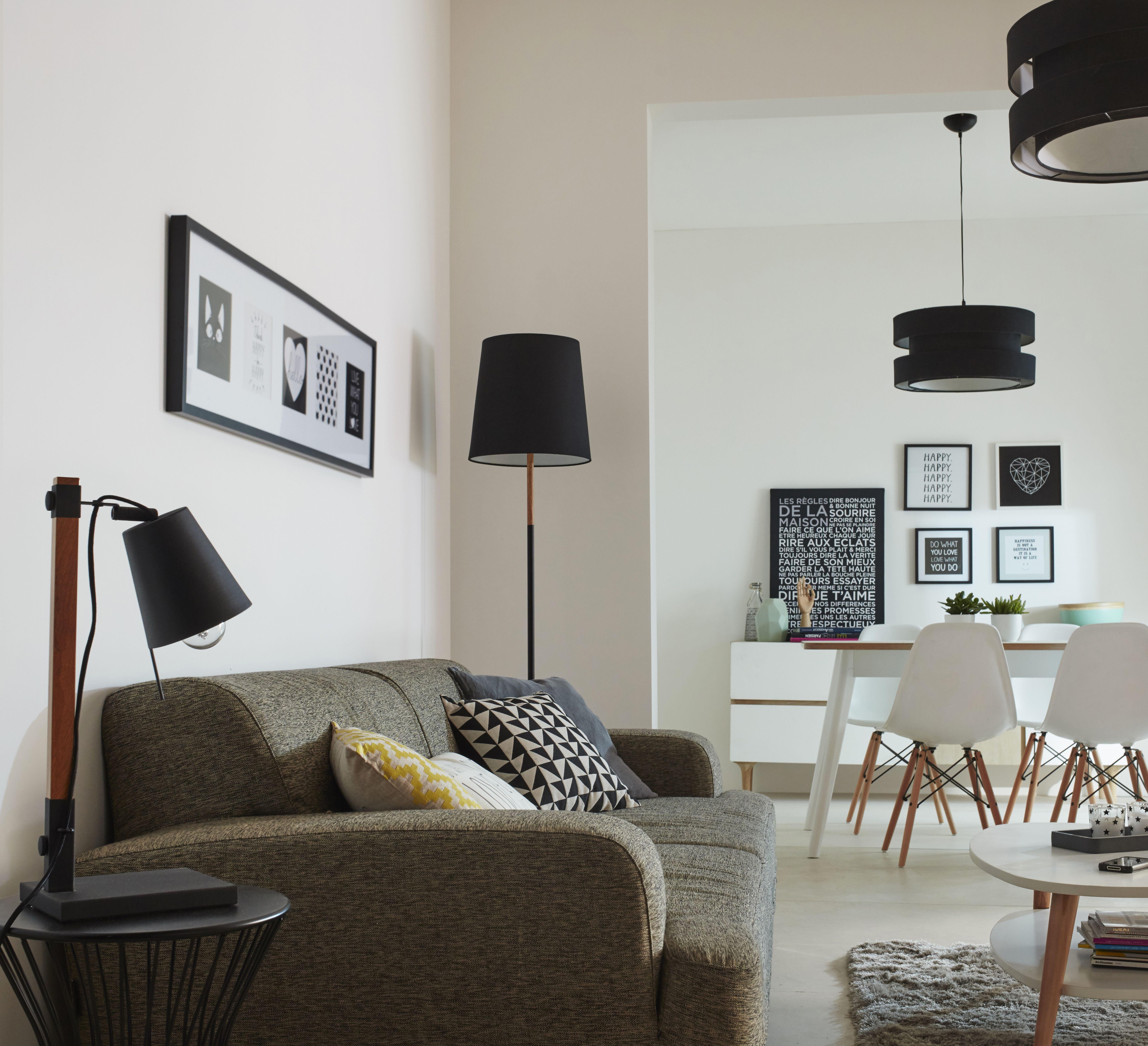 Lampadaire COLOURS Barren noir h 160 cm