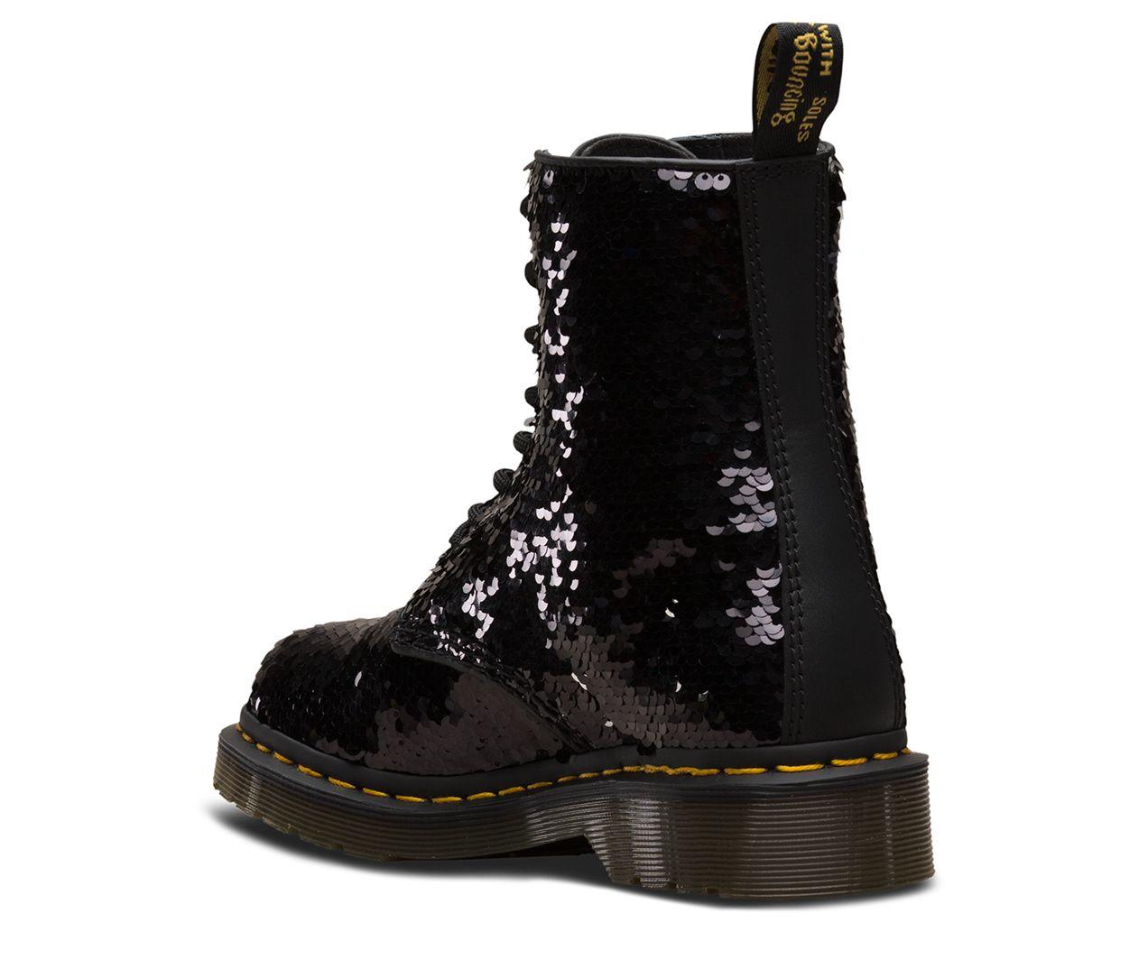 Dr martens 1460 pascal sequin | Boots, Rubber rain boots, Shoes