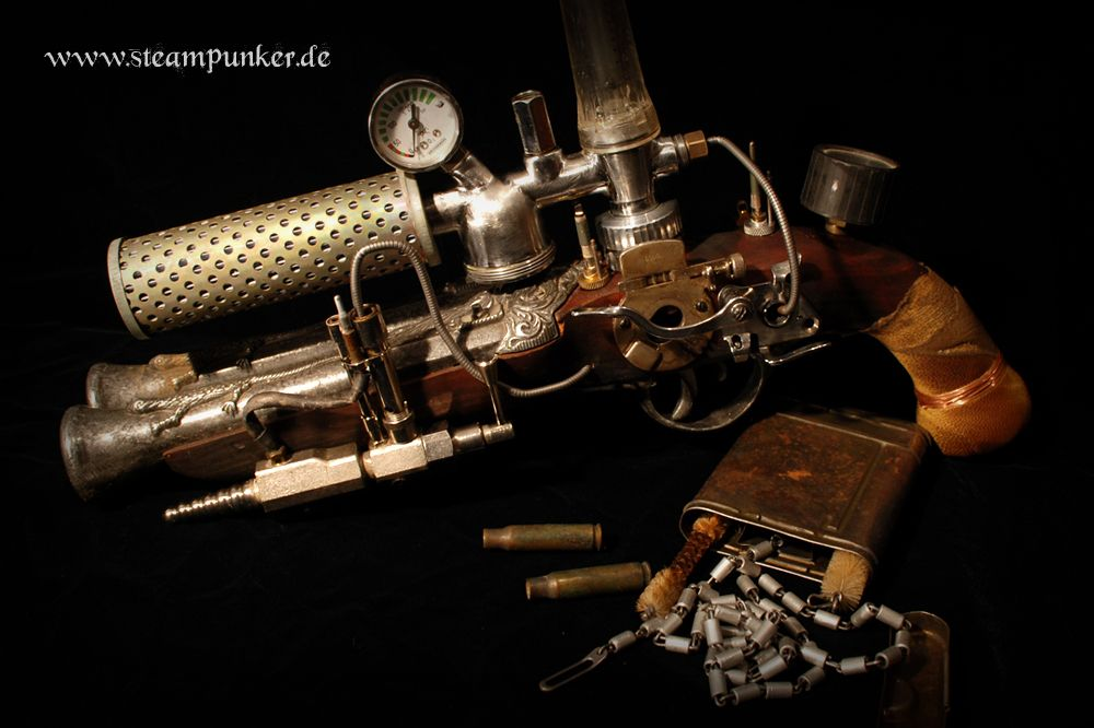 steampunk ray gun - Google Search
