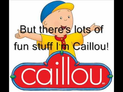 Caillou Theme Song Real Lyrics In English