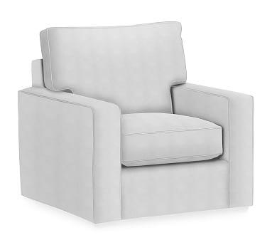 Best Pb Comfort Square Arm Upholstered Swivel Armchair Box 400 x 300