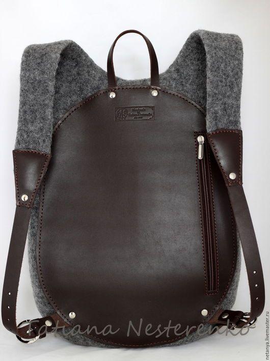 5f58a1be7579 Рюкзаки ручной работы. Рюкзак   Валяные сумки   Backpack bags, Tote ...