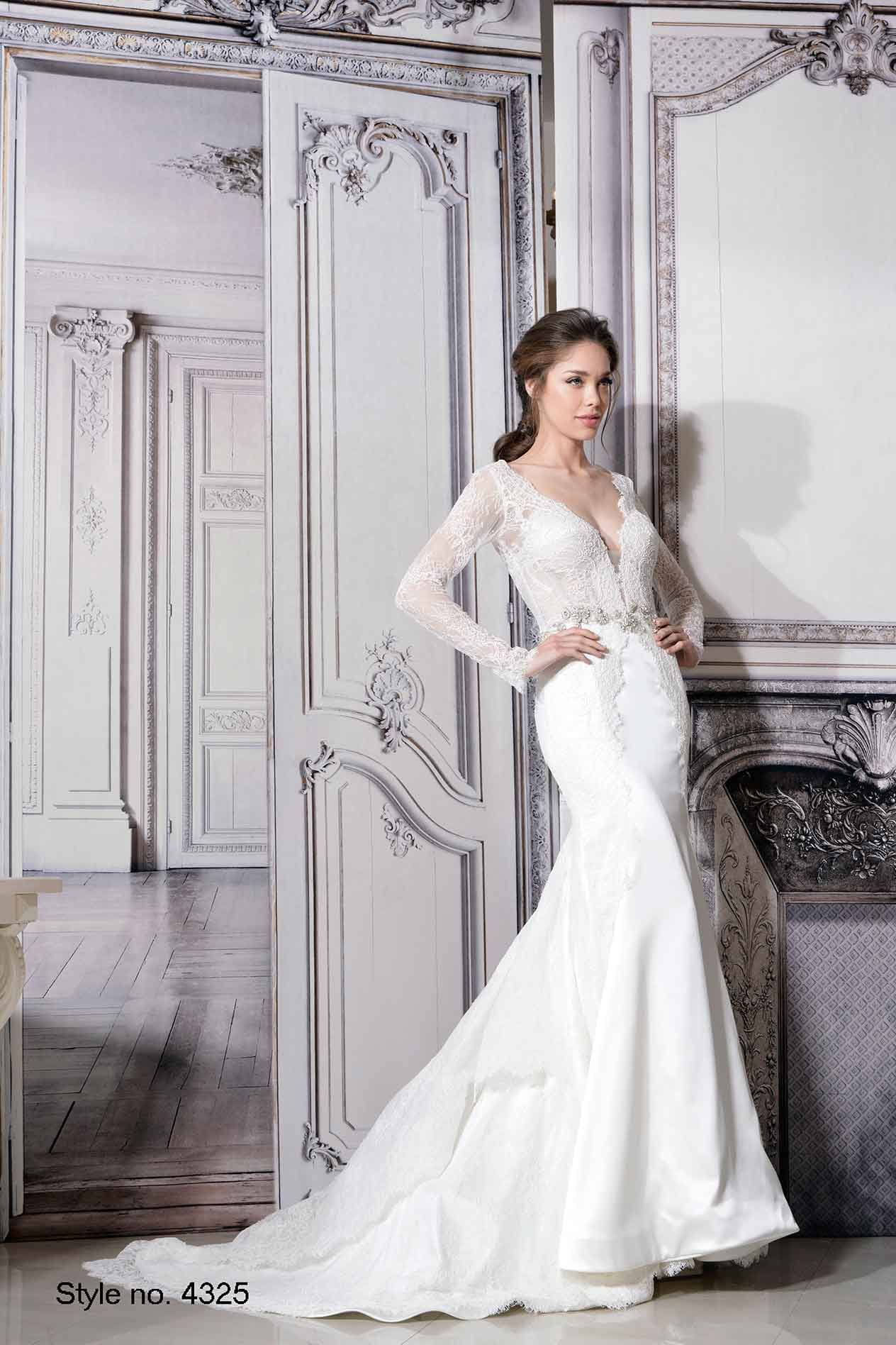 Pnina Tornai Style 4325  pninatornai but minus the sleeves! Like the  silhouette Bridal Gown 141a4363b3f9