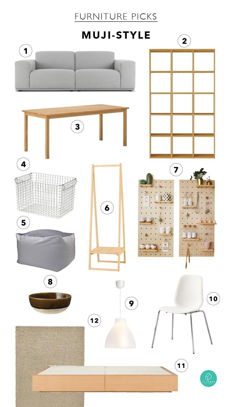 Love That Muji Style This Is How To Nail It Exactly Minimalist Home Furniture Muji Home Japanese Home Design