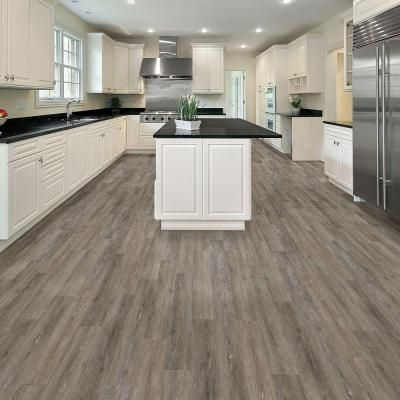 Trafficmaster Brushed Oak Taupe 6 In X 36 In Luxury