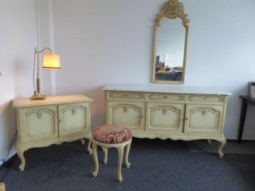 warrings m bel old style kommode spiegel sitzhocker. Black Bedroom Furniture Sets. Home Design Ideas