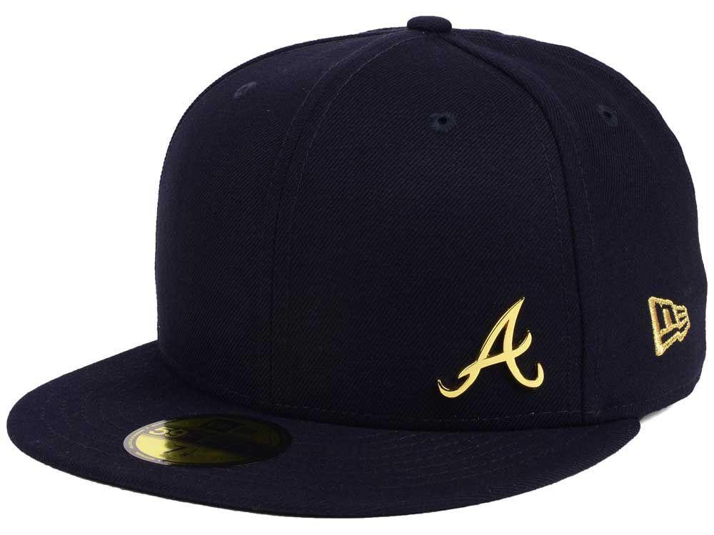 Atlanta Braves New Era Mlb Flawless Ogold 59fifty Cap Atlanta Braves New Era Braves