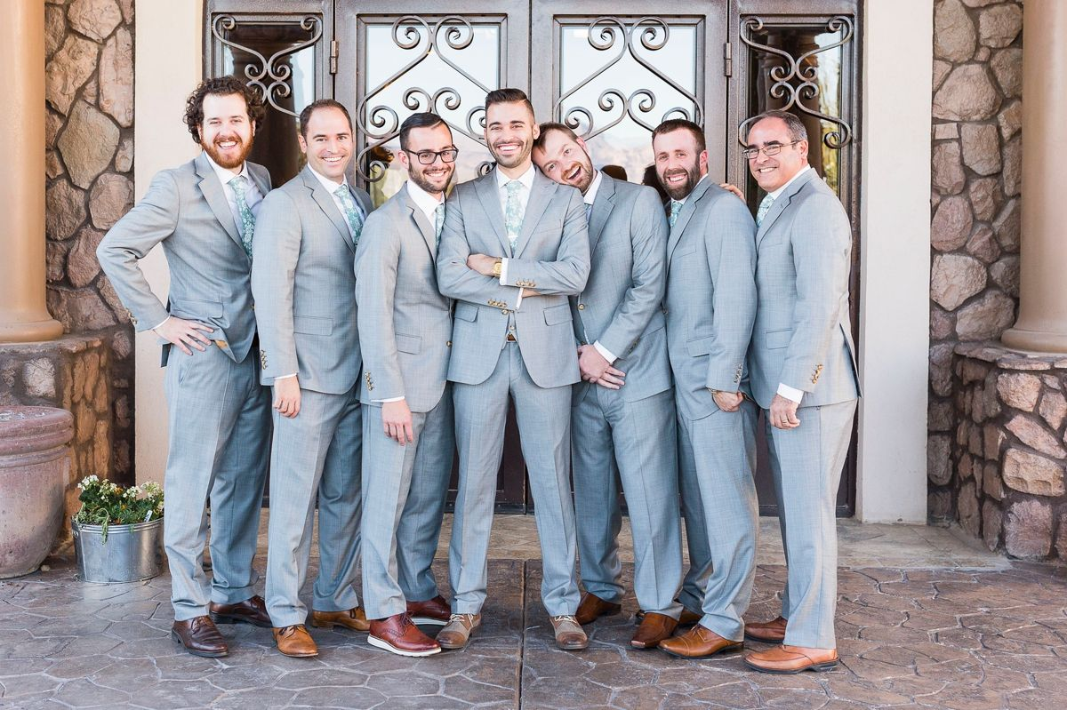 Sam & Steven\'s Wedding Day | Suit: Light Grey Pick & Pick Suit ...