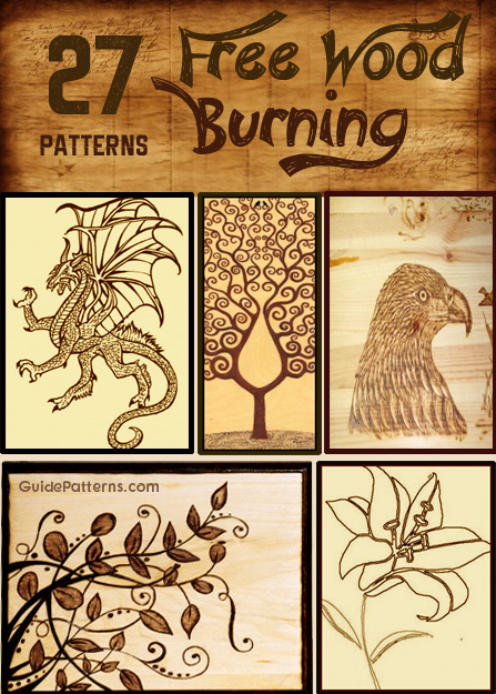 Photo of 27 Free Wood Burning Pattern Ideas | Guide Patterns