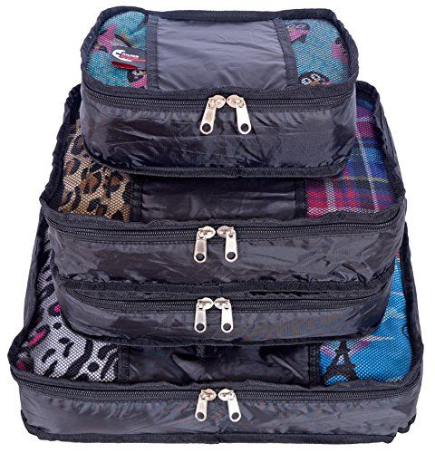 3e902cac743f Swiss Travel Products Packing Cubes Set of 4    Read more reviews of the  product