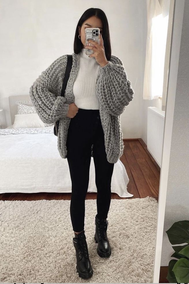 30+Cute Winter Outfit Ideas 2021 – Stil