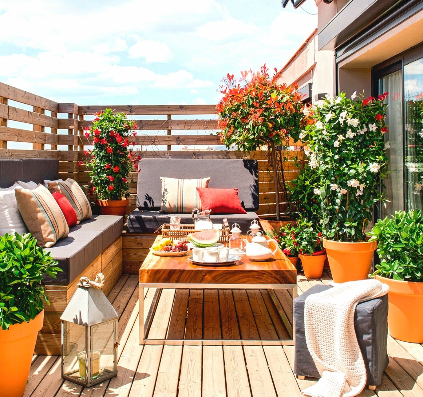 Small Patio Garden, Patio Decor