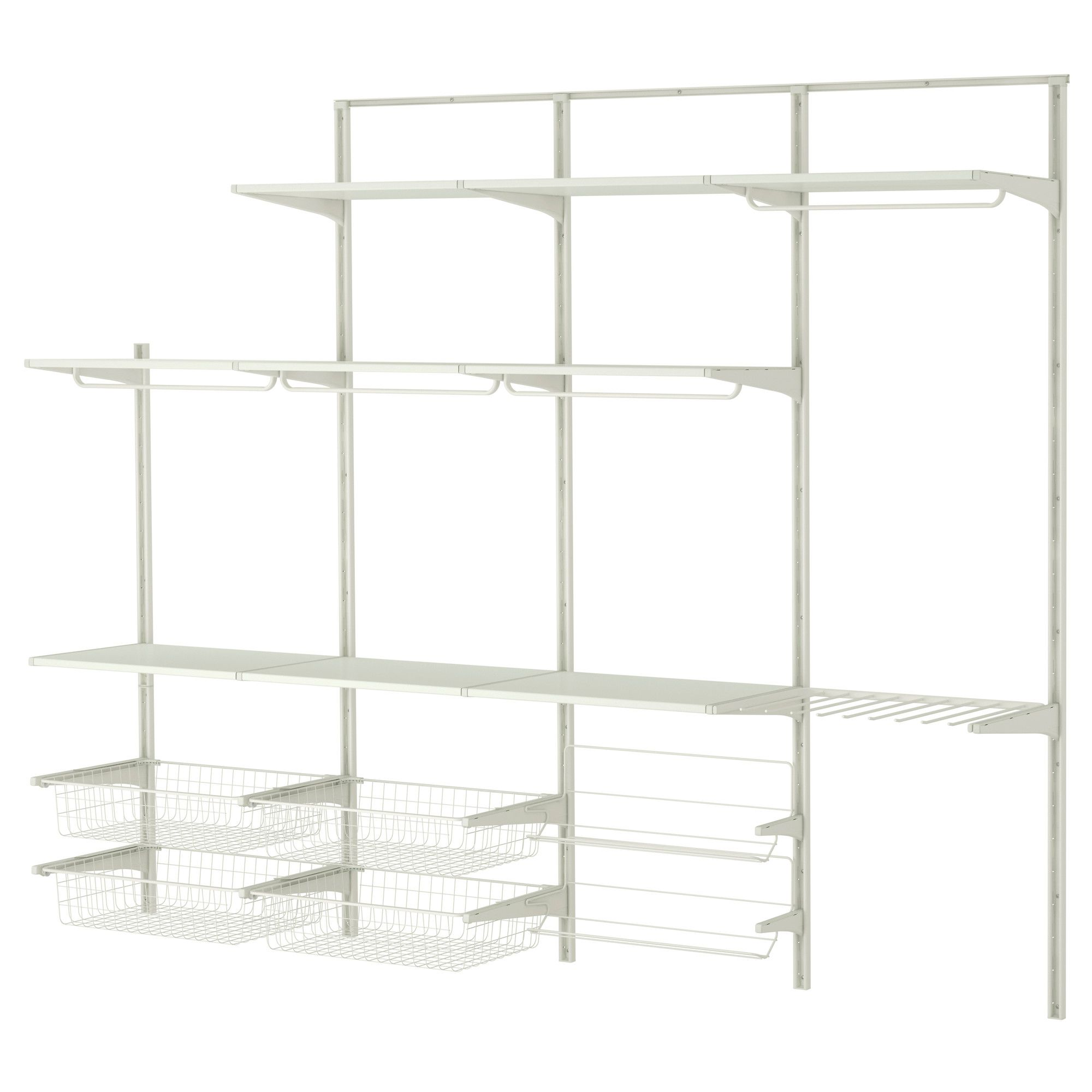 algot wall upright rod shoe organizer ikea bedrooms pinterest shoes organizer and walls. Black Bedroom Furniture Sets. Home Design Ideas