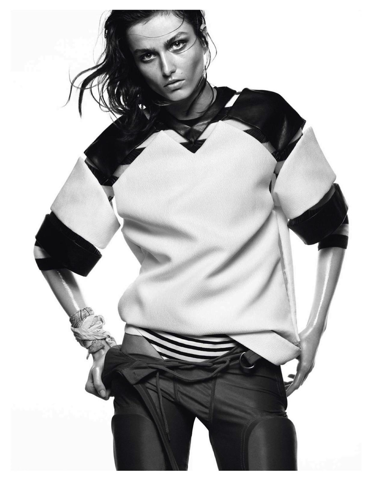visual optimism; fashion editorials, shows, campaigns more!: dune: andreea diaconu by david sims for vogue paris may 2013