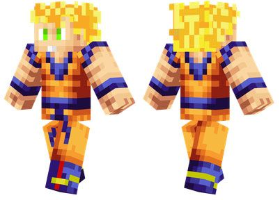 Son Goku Skin For Minecraft PE Httpminecraftpedownloadcomson - Skins para minecraft pe de goku