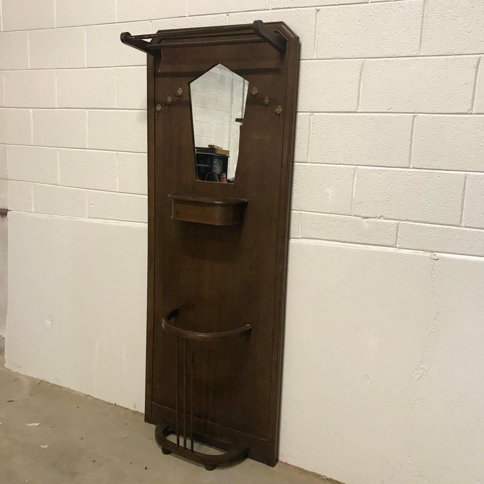 Art Deco Coat Rack Mirror Purse Hook Mirrors For Sale Art Deco Deco