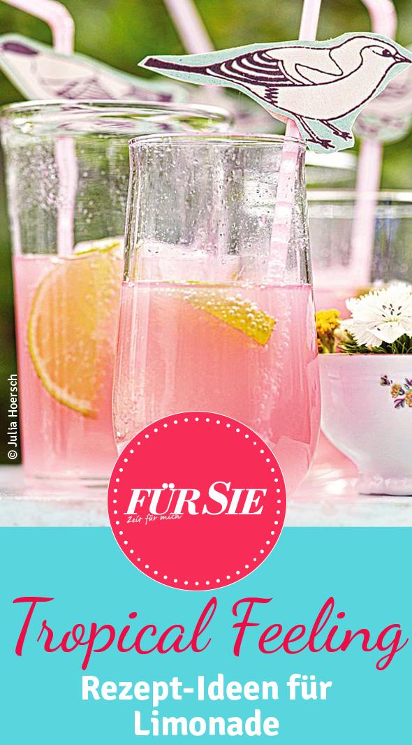 rosa limonade selber machen rezept drinks pinterest limonade getr nke und limonade. Black Bedroom Furniture Sets. Home Design Ideas