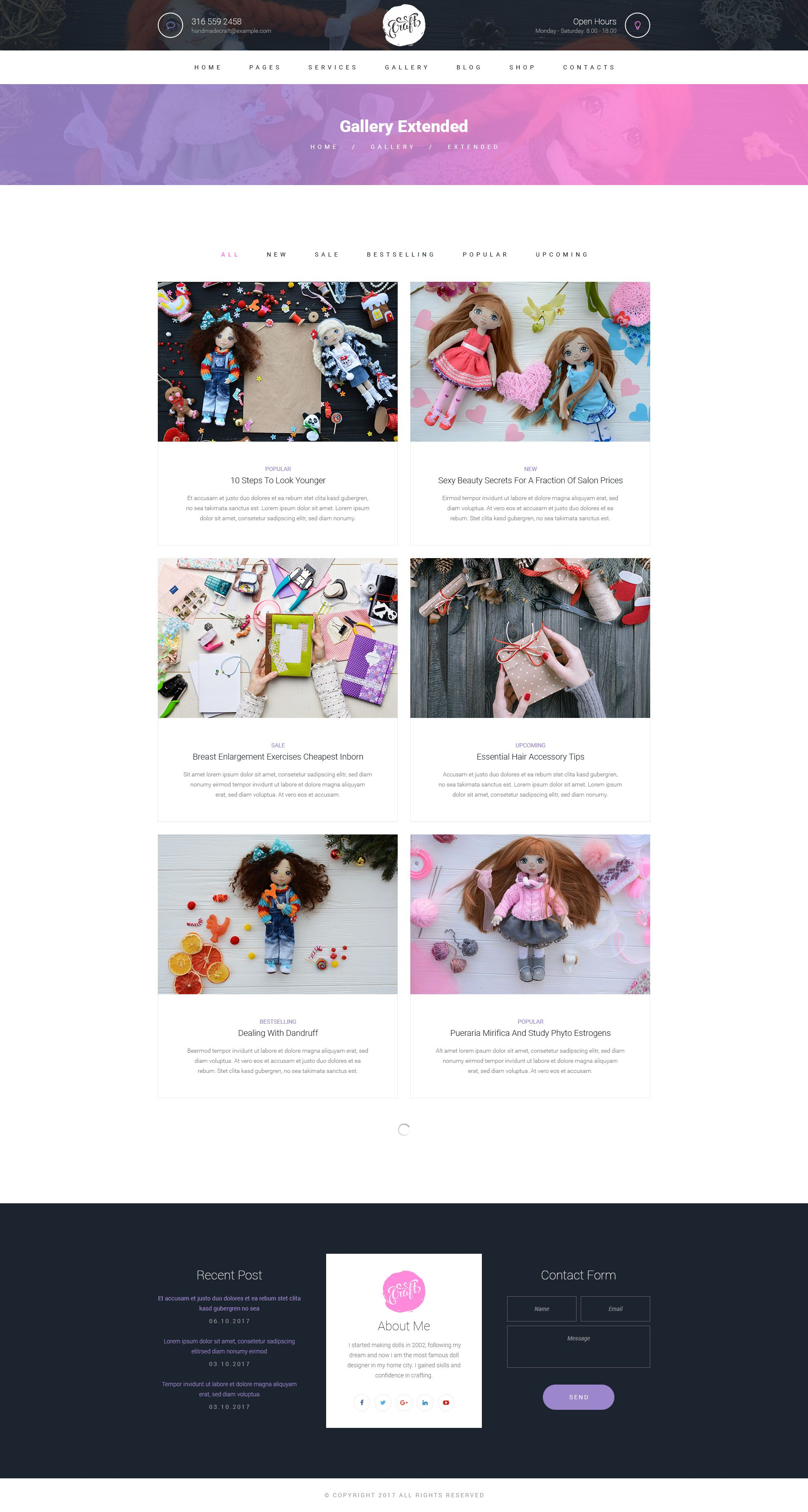 Craft Hobby And Crafts Psd Template Hobby Craft Crafts