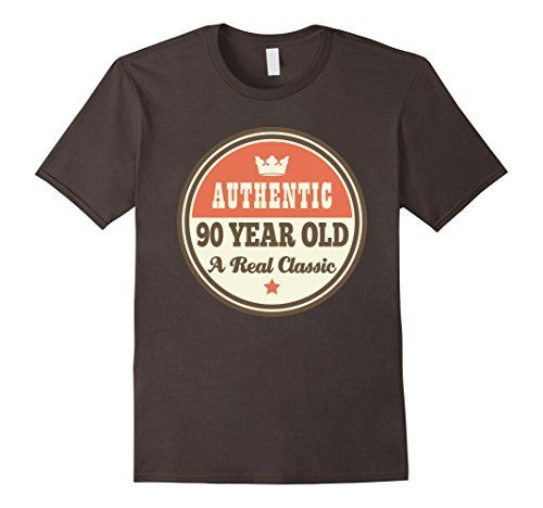 Funny 90th Birthday Tee Vintage 90 Year Old T Shirt