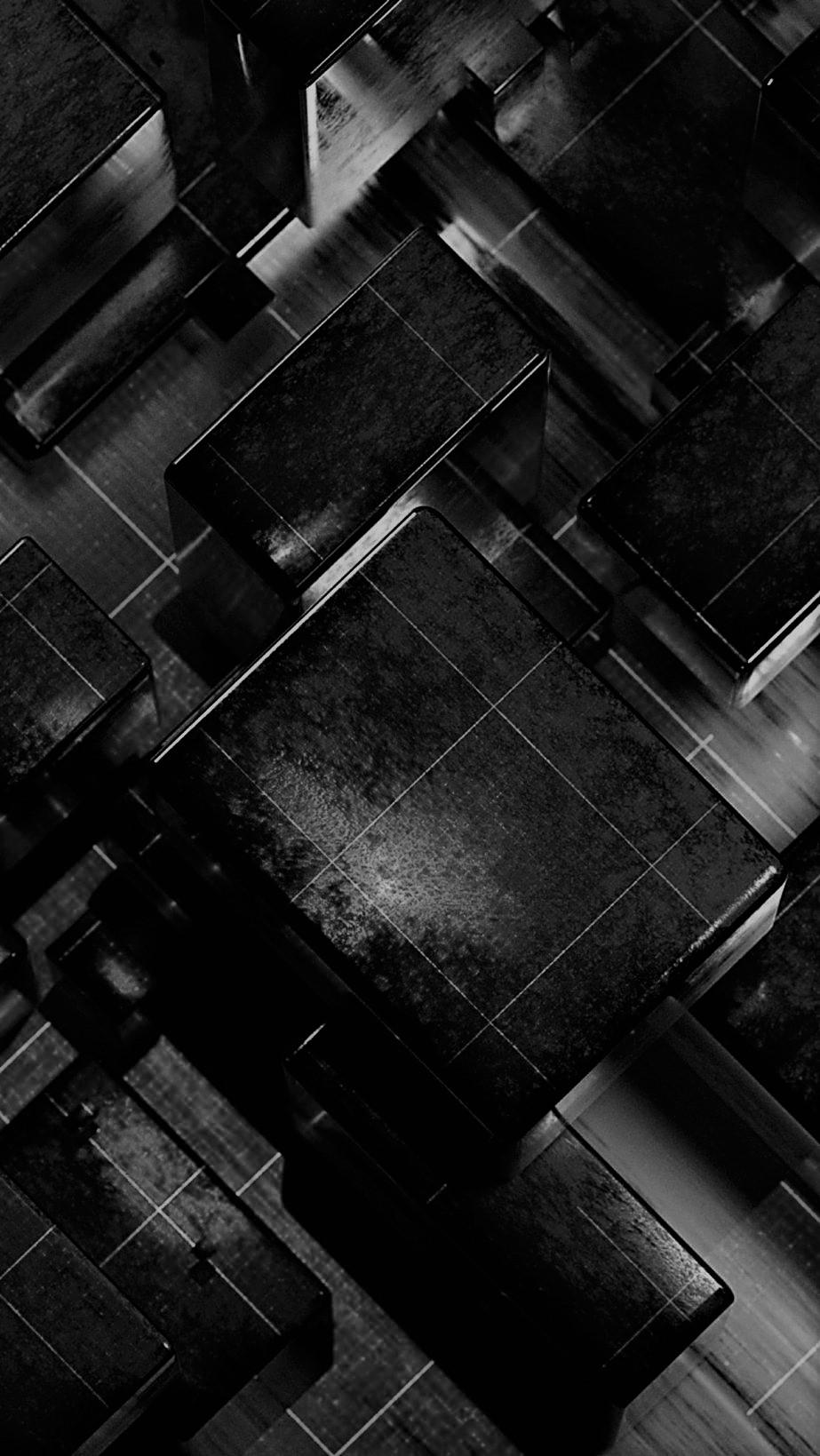 Hd Black 3d Iphone Wallpaper 3d Mobile Background