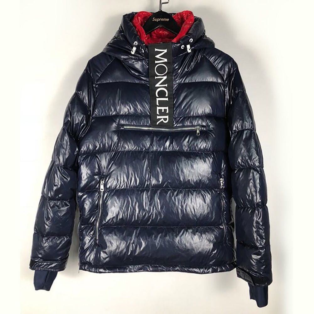 f0d080bed Moncler X Kith Lachat Hooded Jacket in Navy Blue(1855) 140usd ...