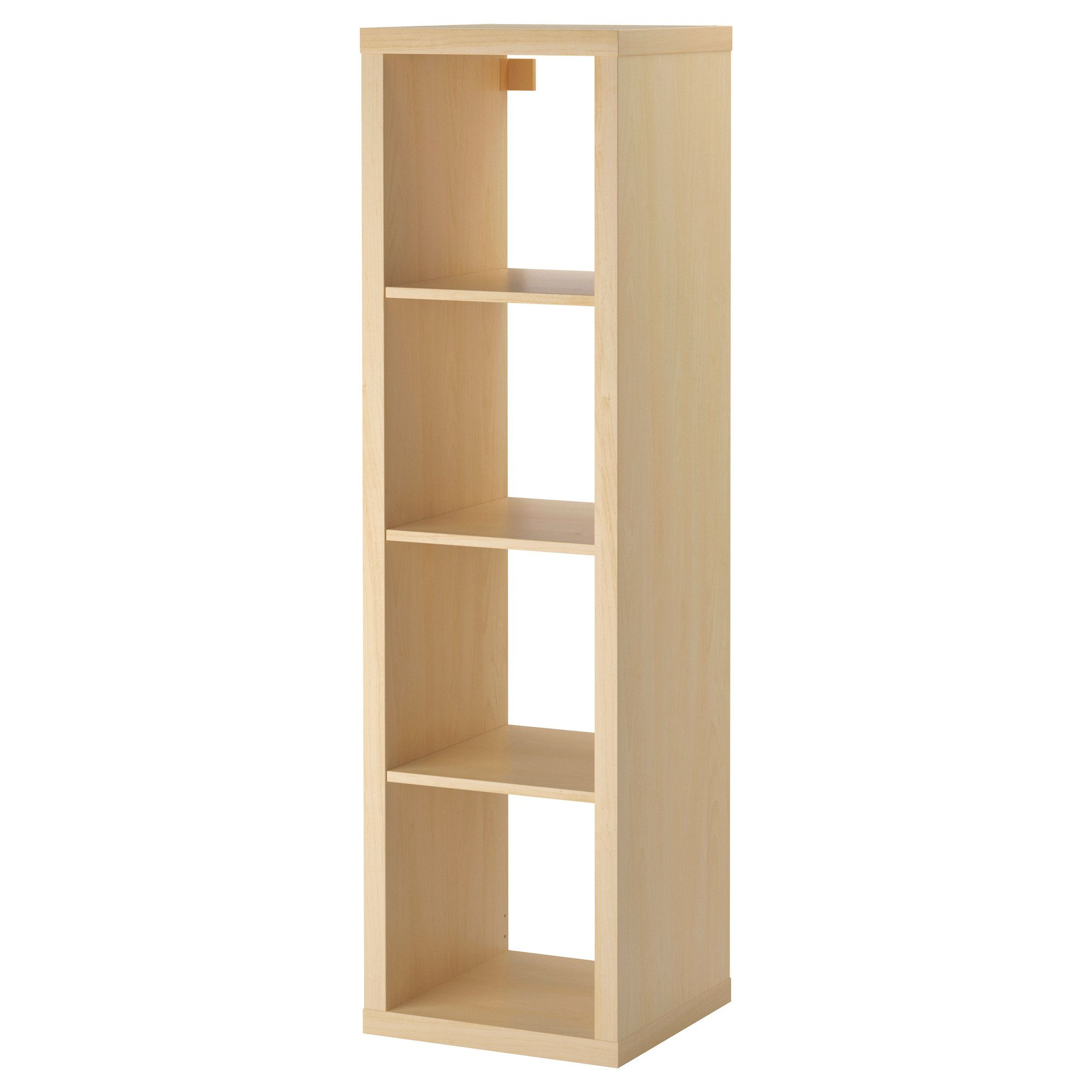 KALLAX Shelf unit, birch effect | Kallax shelving unit ...