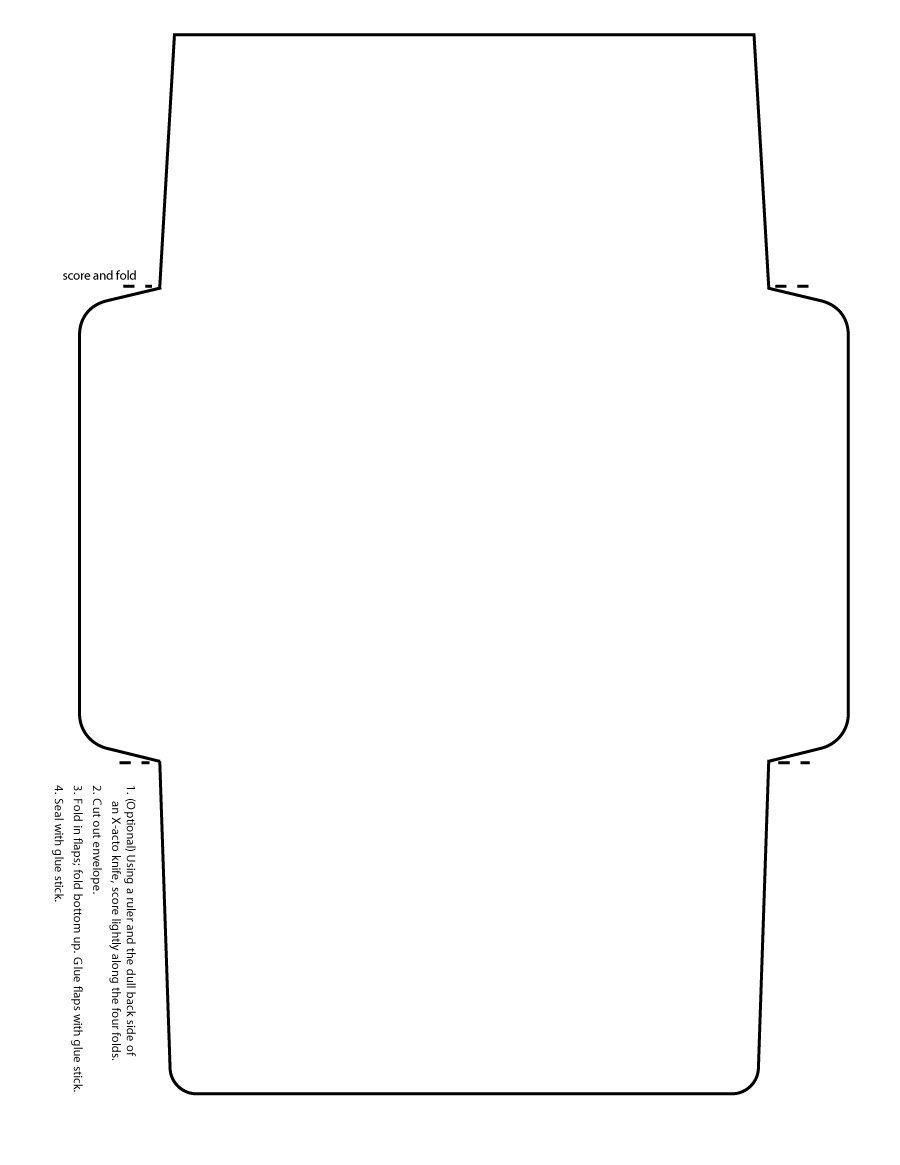 Download Envelope Template 05 Envelope Printing Template