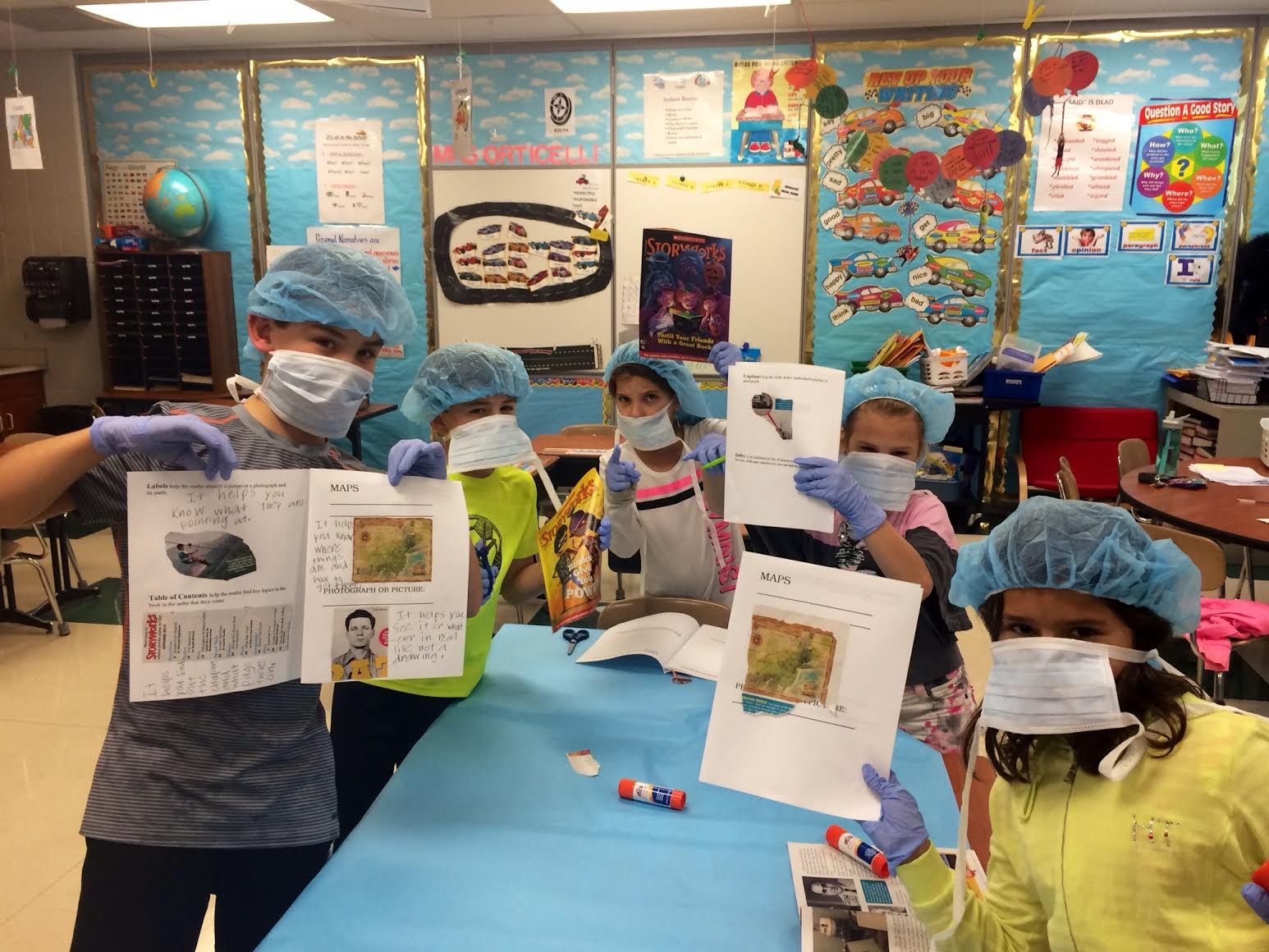 A Creative Classroom Activity For Teaching Text Features: Surgery!