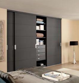 losse kastdeuren | kast slaapkamer | Pinterest | Sliding door ...