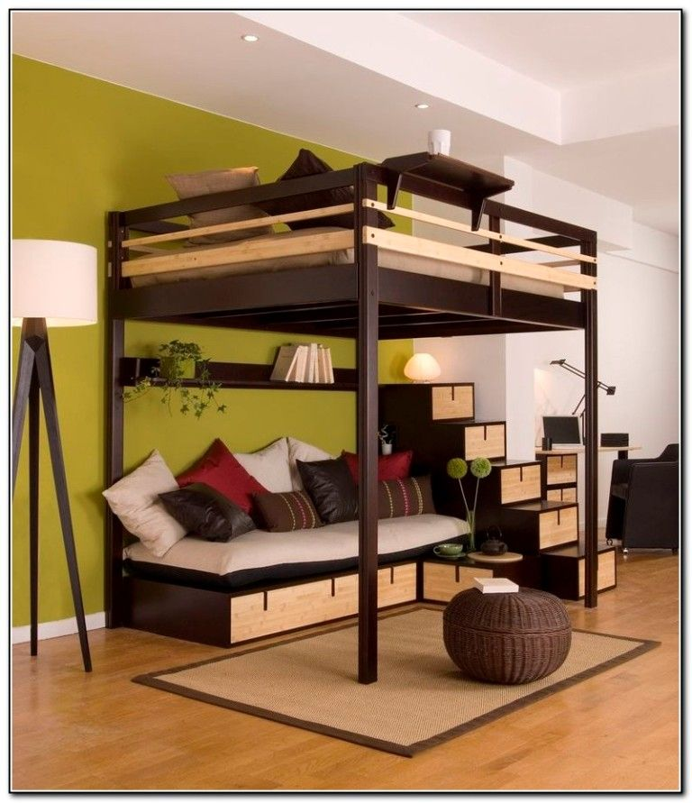 double loft bed canada loft bed ideas pinterest. Black Bedroom Furniture Sets. Home Design Ideas