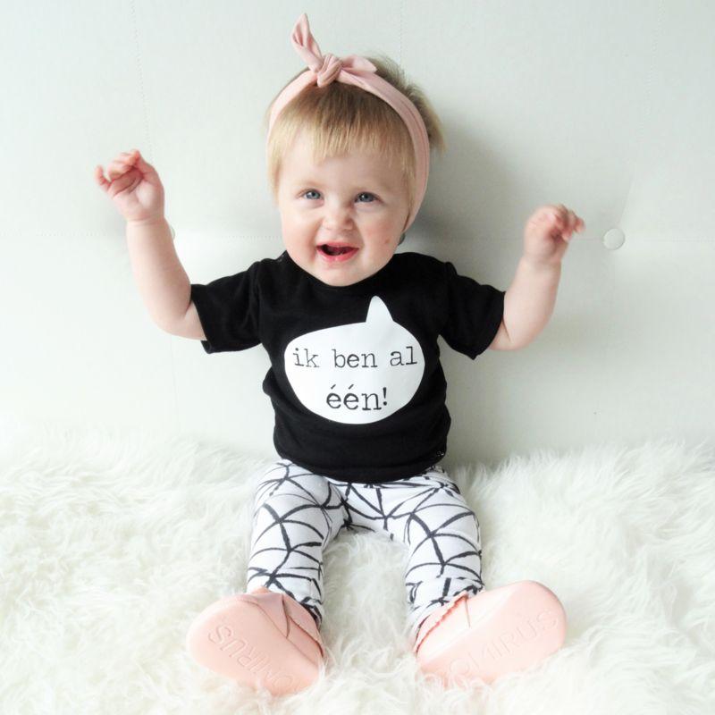 Verjaardag Shirt 1 Jaar Verjaardagshirt Baby