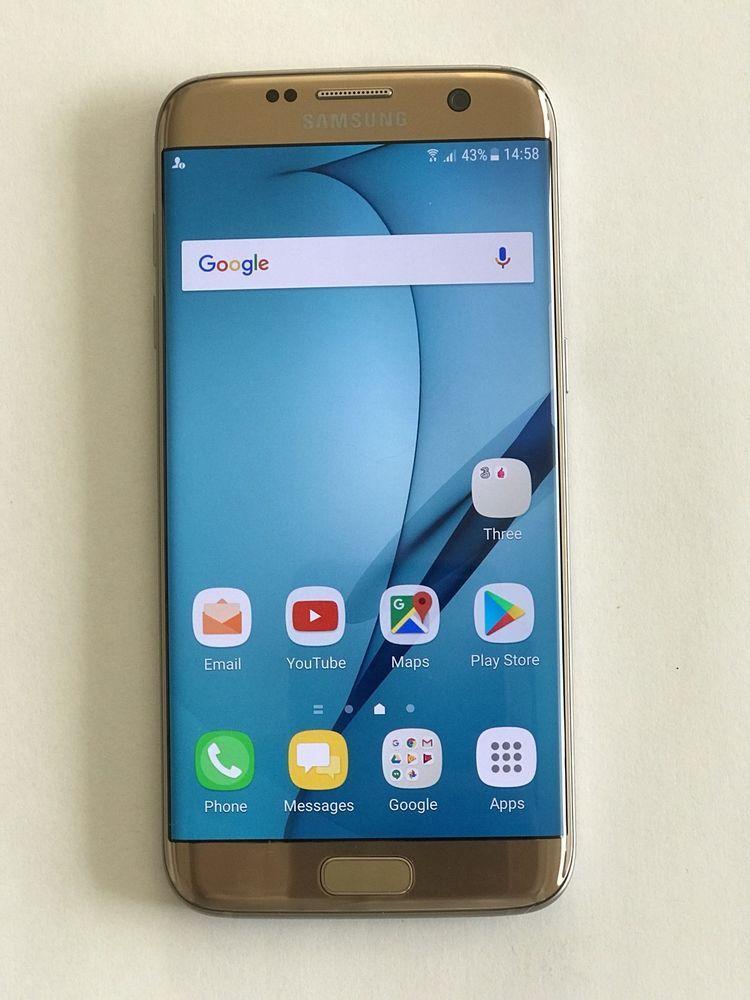 info for 93838 58741 Samsung Galaxy S7 edge SM-G935F - 32GB - Gold Platinum (Unlocked ...