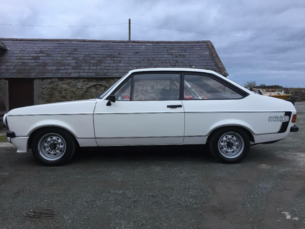 This Ford Escort Mk2 Rs Mexico Harris Built 170bhp 2.0 Engine is for ...