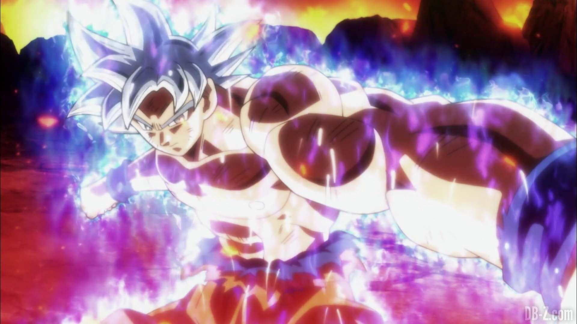 Dragon Ball Super Episode 130 Goku Ultra Instinct Jiren 0100 Dragon Ball Super Dragon Ball Dragon Ball Goku
