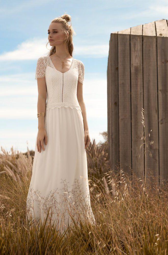 Rembo styling — Kollektion 2018 — Gold: Romantisches Kleid mit ...