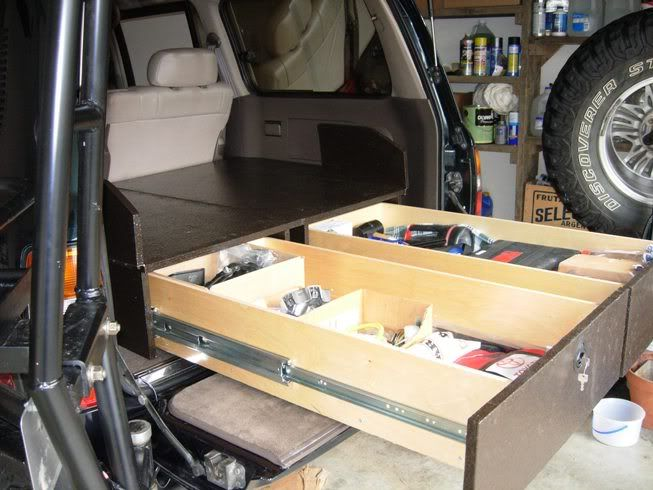 Warfield Off Road Land Cruiser Storage Drawers Review