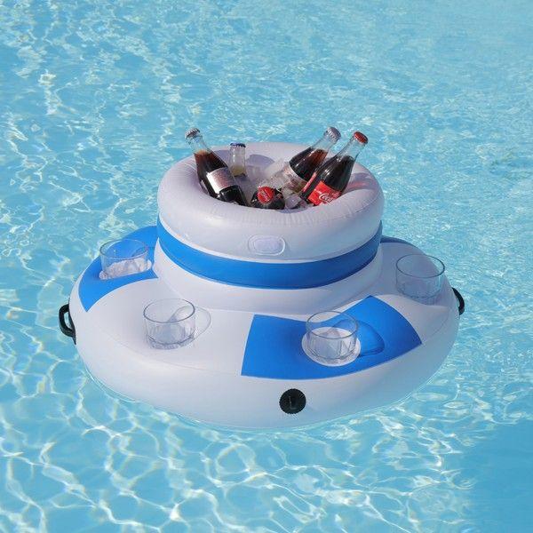 Bar Flottant Piscine Yacht Pool Floats Inflatable Pool Mermaid Pool