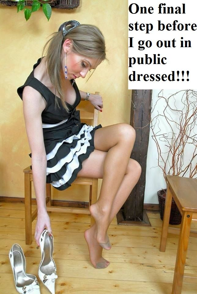 Sissy captions in various types of pics. From panties to diapers. I'm an ABDL and Crossdresser in...