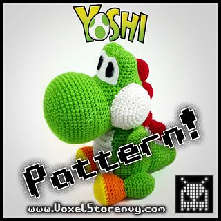 Free pattern on Ravelry called Mini Yoshi Friend by Mary Smith ... | 320x320