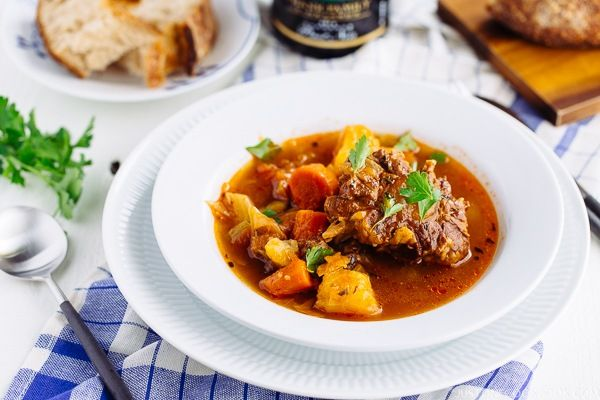 pressure cooker oxtail soup  recipe with images