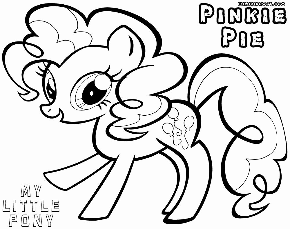 24 Pinkie Pie Coloring Page in 2020 (With images) | My ...