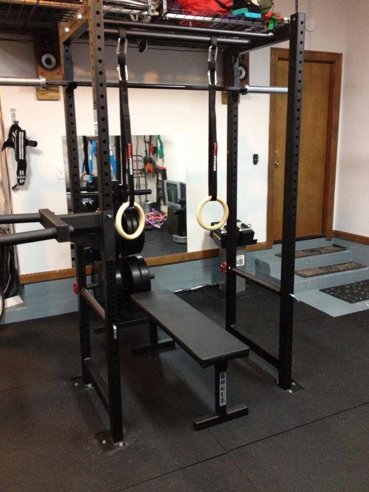 Basic garage gym package fringesport equipment
