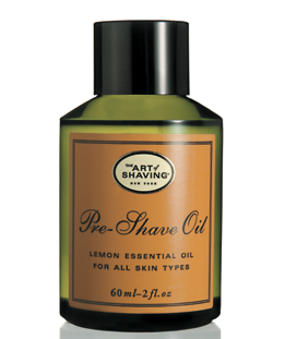 If you have sensitive skin, try adding a pre-shave oil to your daily ritual.