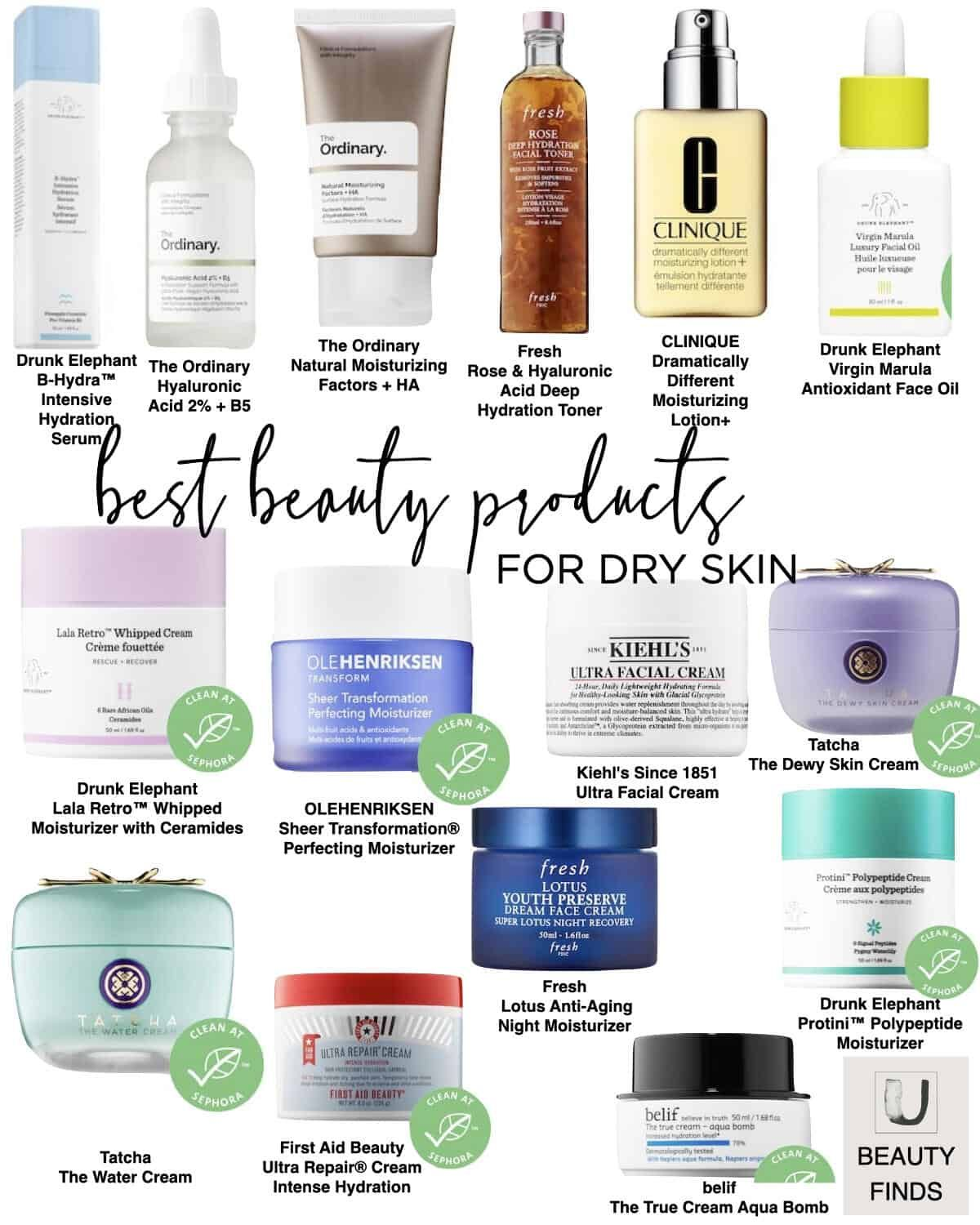 Skincare Best Sellers For Every Skin Concern Dry Skin Facial Cleanser Dry Skin Care Skin Care