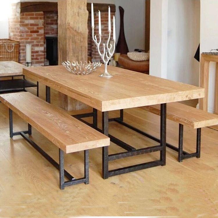Juho American Casual Dining Restaurant Rectangular Wood Outdoor Amusing Restaurant Dining Room Furniture Design Ideas