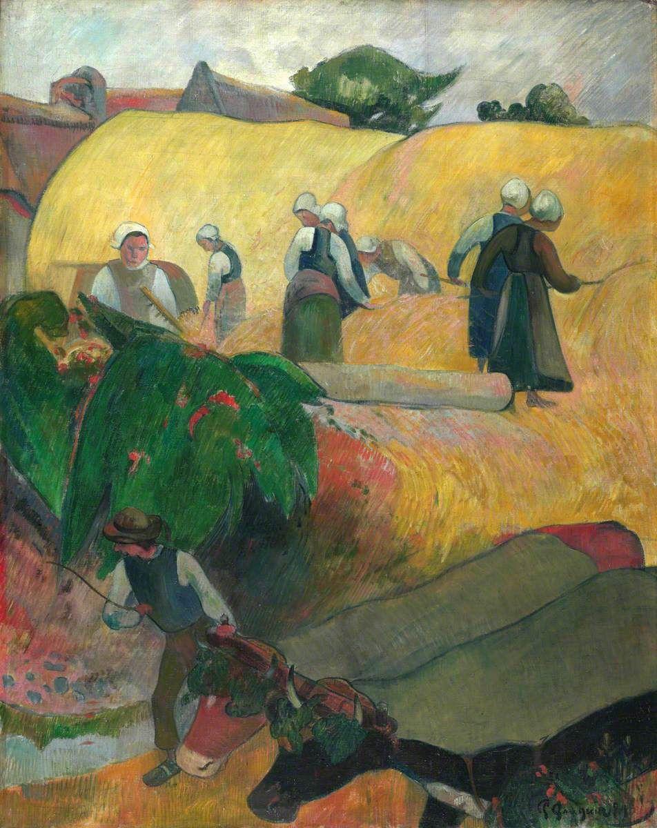La fienagione di Paul Gauguin 1889