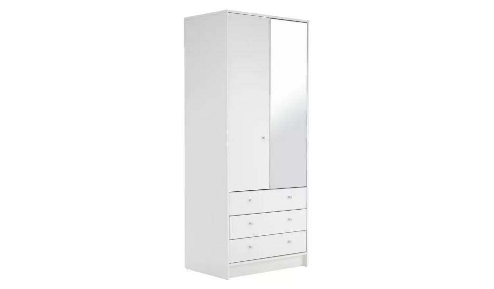 Habitat Malibu 2 Door 3 Drawer, White Bedroom Furniture Sets Argos